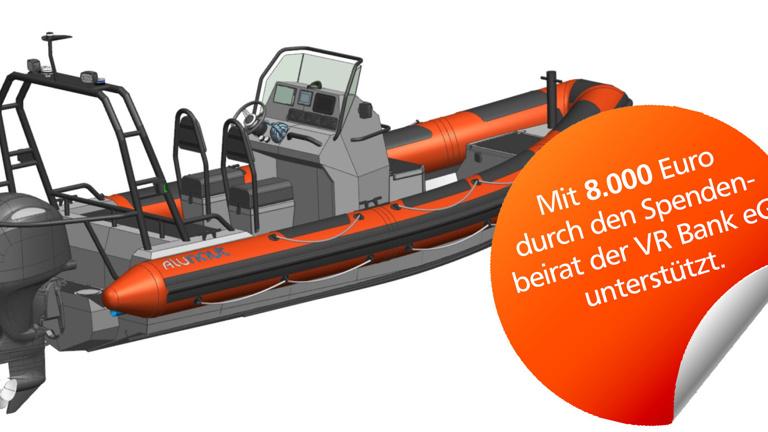 Rettungsboot für DLRG Monheim am Rhein