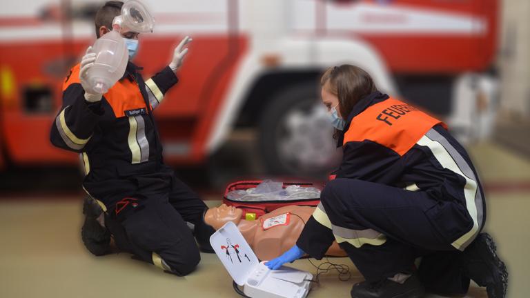 Anschaffung eines AED für die Feuerwehr