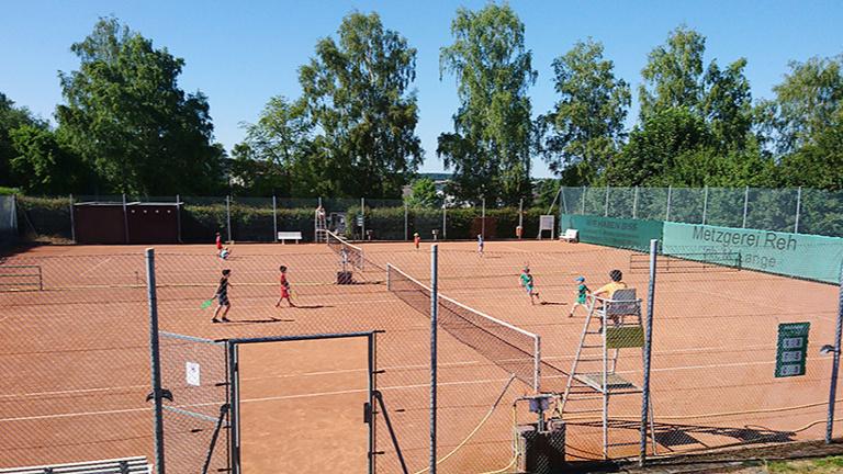 Ballwurfmaschine Tennisabteilung  VfL Altendiez