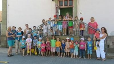 Klangspiel für Kita Villa Kunterbunt in Matzenbach