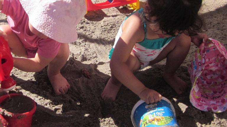 Wasserspielanlage für KiTa-Kids