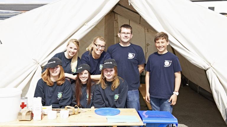 Ein neues Zelt für unsere Jugendarbeit