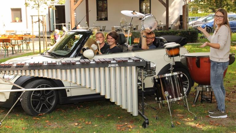Anhänger für die Musikkapelle Gerlenhofen