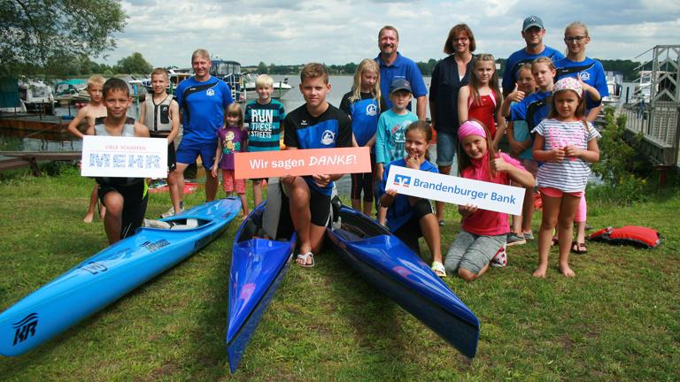 Canadier-Schülerboot für unseren Nachwuchs