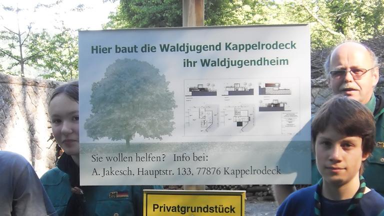 Versorgungsanschluss Walderlebnishaus Kappelrodeck