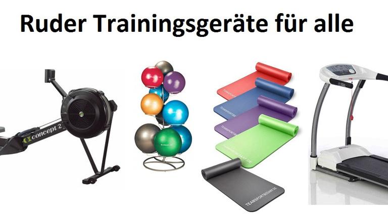 Ruder-Trainingsgeräte für alle