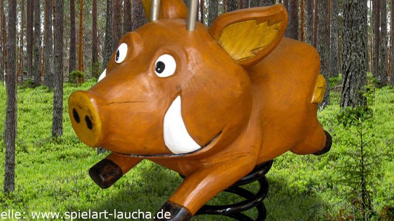 Erneuerung Waldspielplatz am Schützenhaus Stetten