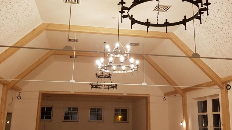 Eine neue Inneneinrichtung für den Eckenhääner Saal