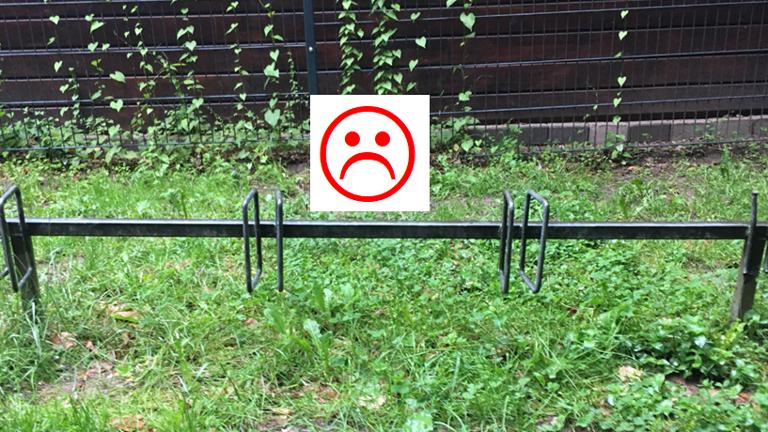 #RadparkerFürDreieich - Weg mit den Felgenkillern!