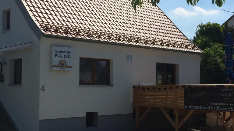 Renovierung des FVG Sportheim