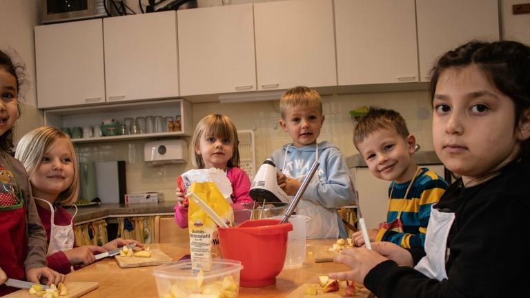 Küche für die Schatzkistenkinder