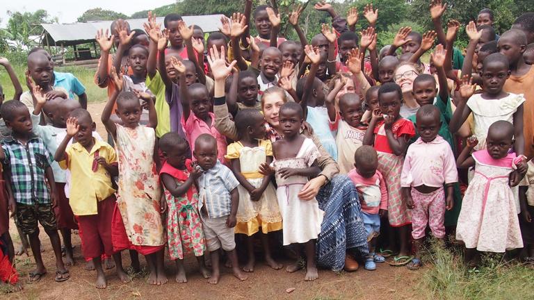 Schulgebäude für Suubi in Uganda