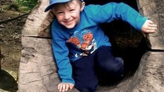 Werkbänke für den Waldkindergarten