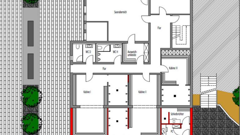 Sanierung + Erweiterung der Umkleideräumlichkeiten
