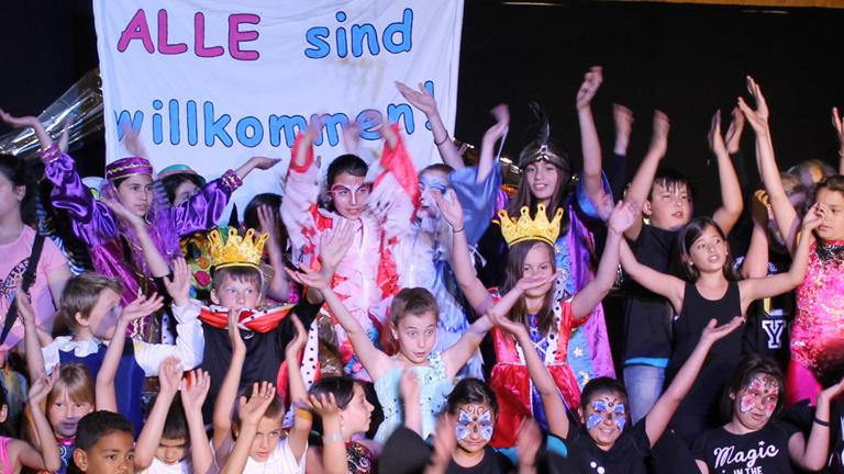 Willkommenskultur für Flüchtlingskinder