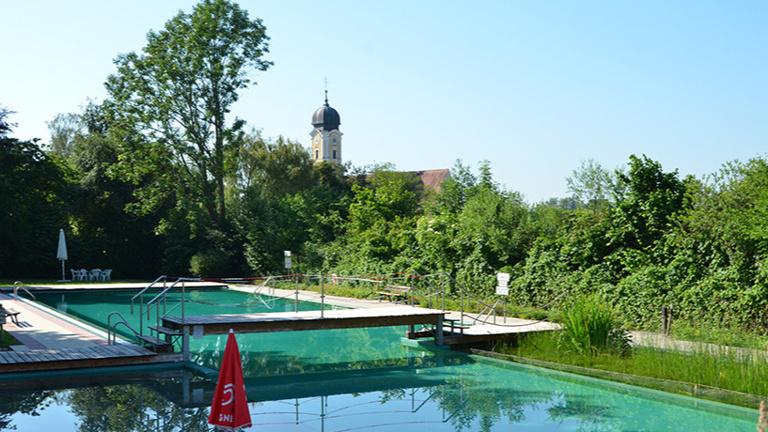 Sanierung Kinderplanschbecken Naturbad Tettenweis