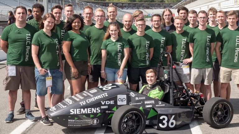 TU-Studenten entwickeln Rennwagen
