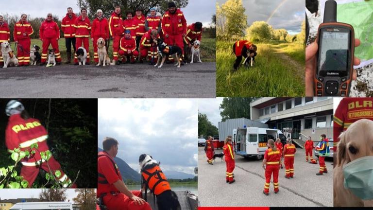 GPS Geräte für Rettungshundestaffel