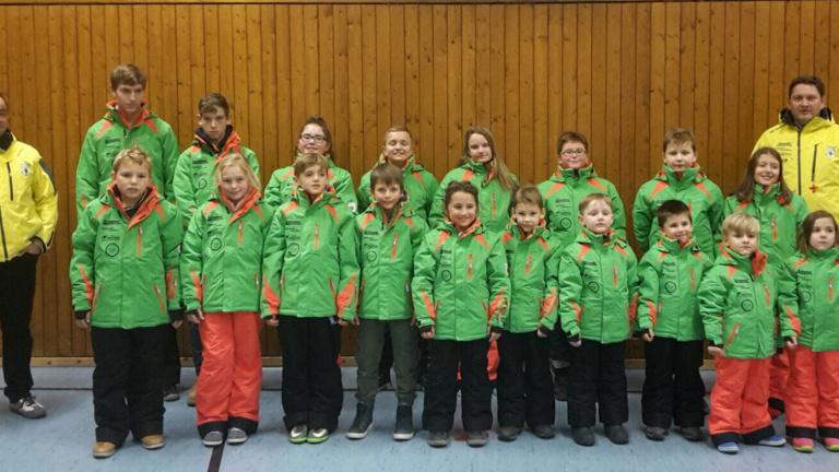 Skijacken für Übungsleiter