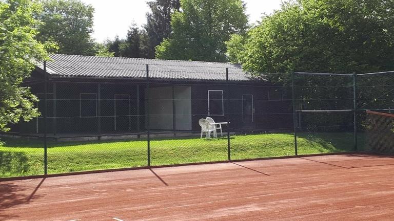 Unterstützung der Tennisabteilung