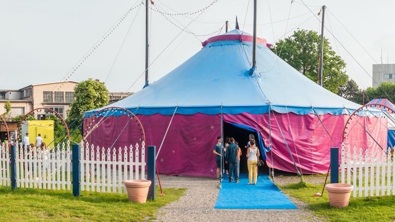 Zirkus(t)räume - Ein neues Zelt für Maccaroni
