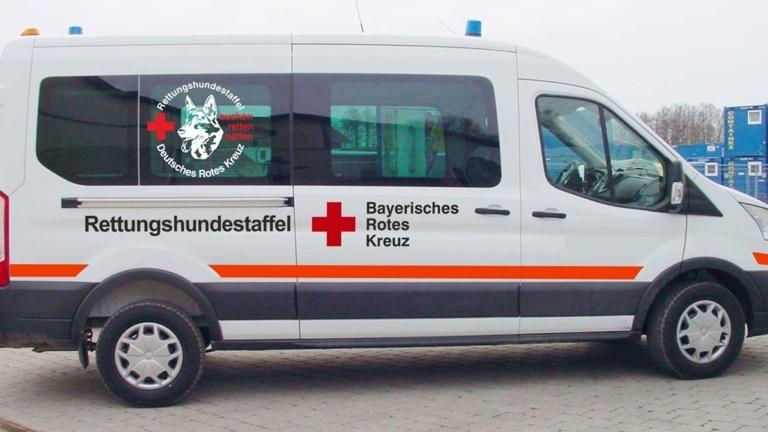 Einsatzfahrzeug für Suchhunde