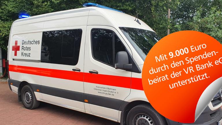 Einsatzwagen für den Katastrophenschutz