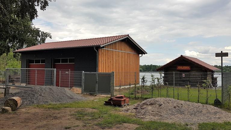 Ersatzbau DLRG Bootshaus