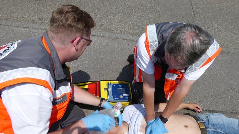 AED für Helfer vor Ort