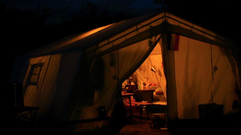 Stadtwerke: Nachhaltige Beleuchtung für Zeltlager