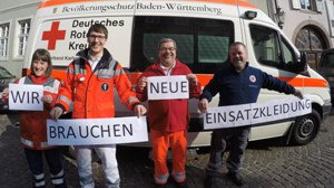 DRK Durlach: Wir brauchen neue Einsatzkleidung!