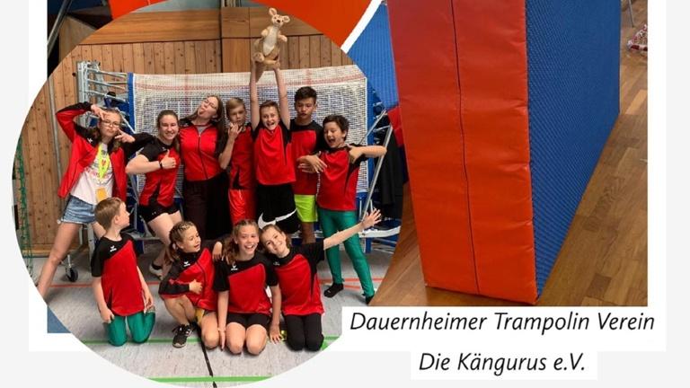 Sicherheitsmatten für die Trampolin-Kids der Kängurus
