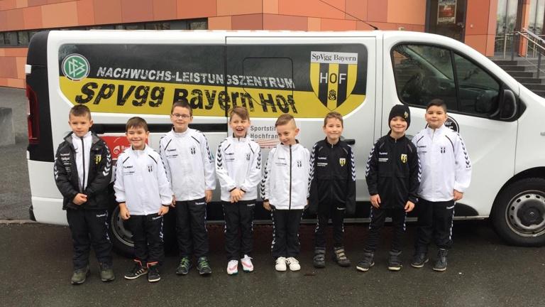 Kleinbus für die SpVgg Bayern Hof Junioren