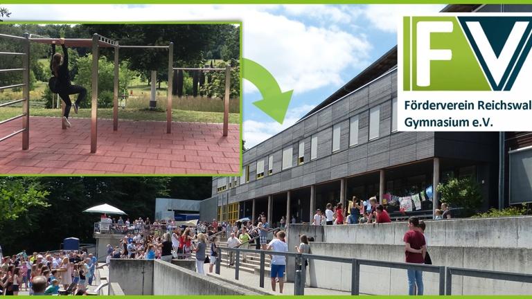Calisthenics-Anlage für das Reichswald-Gymnasium