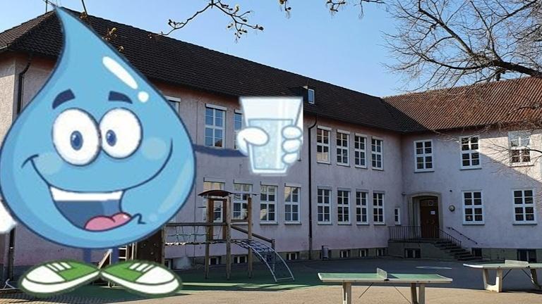 Wasserspender für die Schüler der Goetheschule