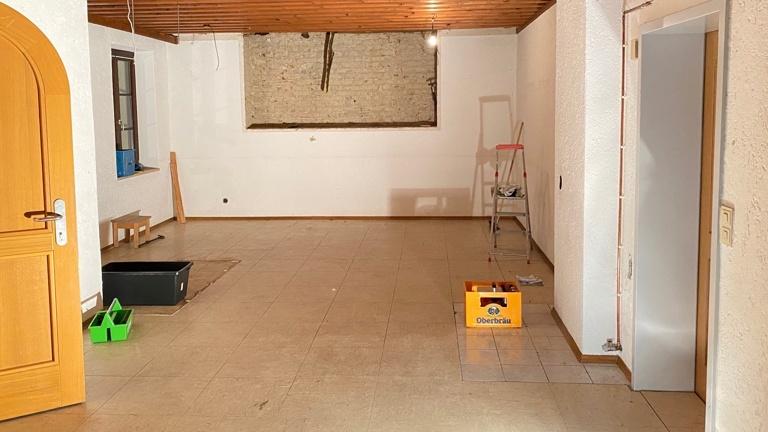 Umbau Vereinsheim Neufahrn