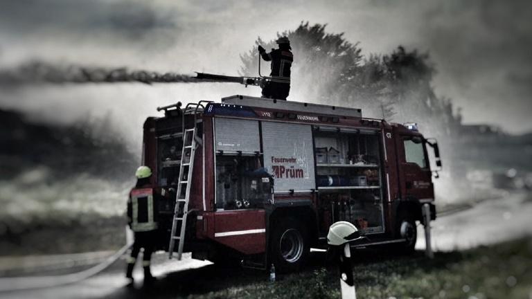 Schnelleinsatzzelt Feuerwehr Prüm