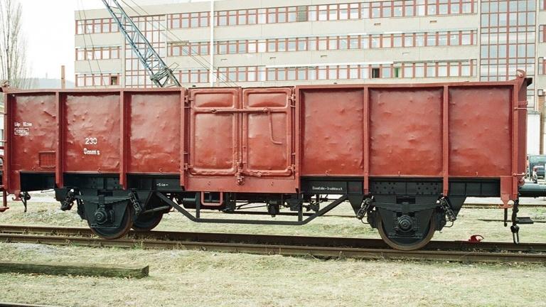 HU des Kohlentransportwagen Omms71
