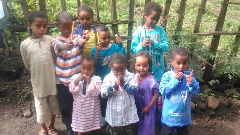 Hilfe für ein Waisenhaus in Äthiopien