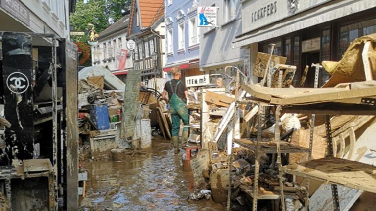 Hochwasserkatastrophe - MVB erhöht Spende um 50%