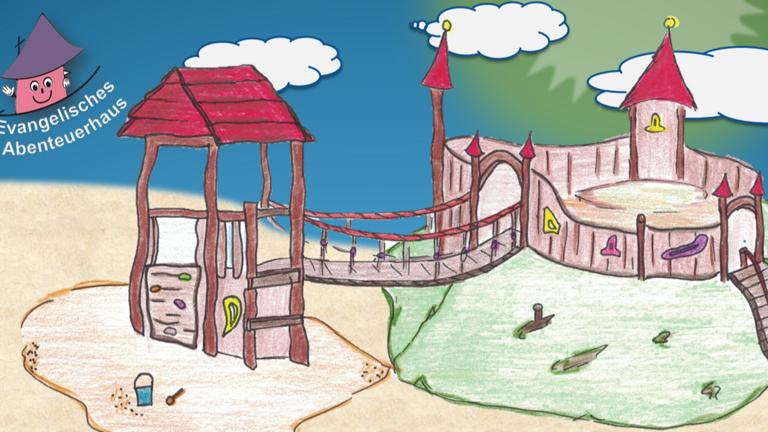 Burgturm für ev. Kindergarten St.Wendel