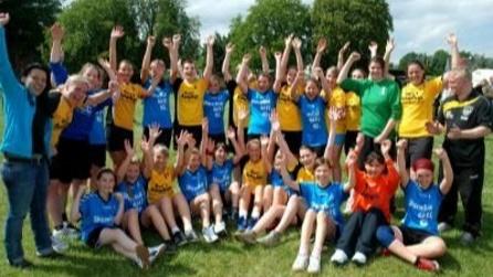 Trainingslager für unseren weiblichen Handballnachwuchs