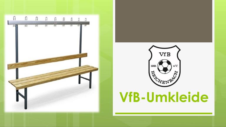 Ausstattung der neuen VfB-Kabine