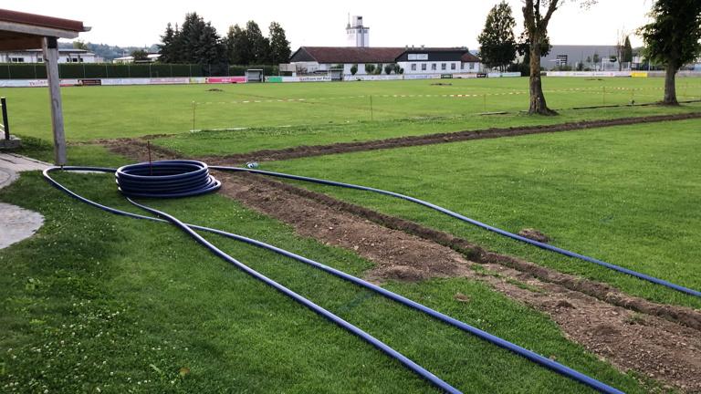 Beregnungsanlage des SV Hofkirchen