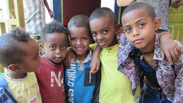 Ein Haus für Waisenkinder in Äthiopien