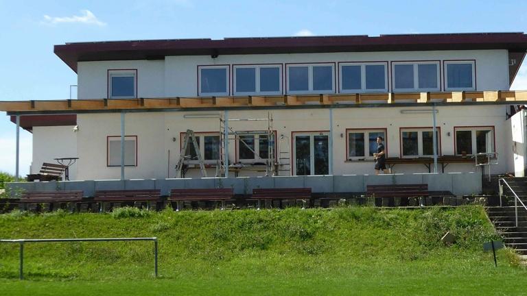 Terrassenausbau