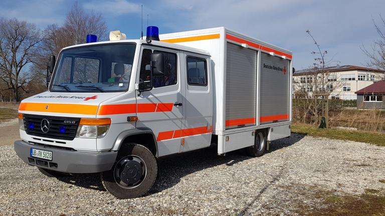 Neue Ausstattung des Gerätewagen Sanität