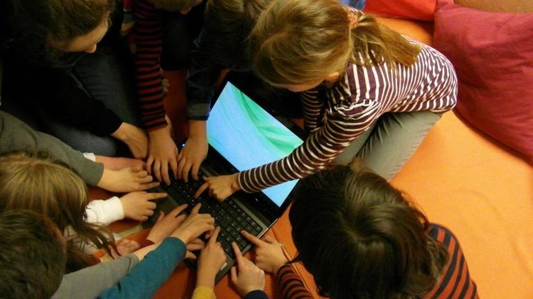 Laptop für die Kinder