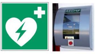 """AED """"Automatisierter Externer Defibrillator"""" TSV Emskirchen"""