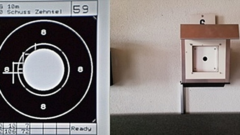 Vollelektronische Schießstände